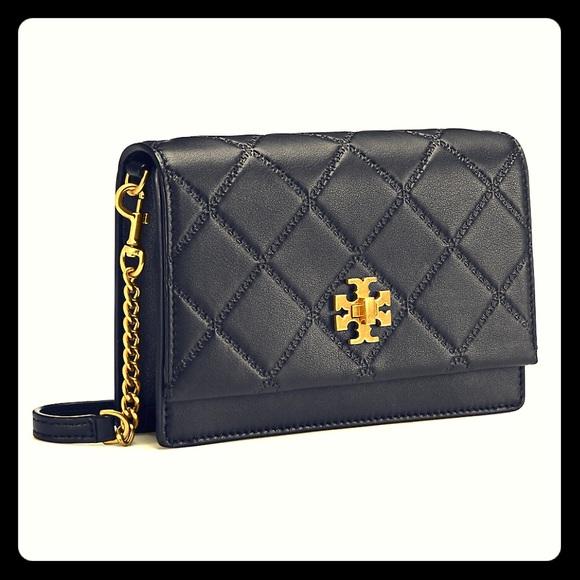 331b5daaa05 🆕Tory Burch Georgia Turn-Lock Mini Bag - Black